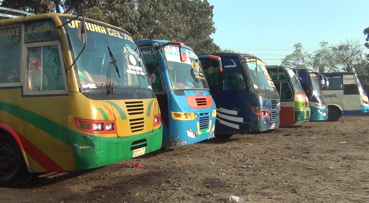 Bus services halted on all routes in Narail