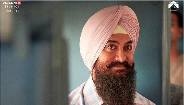 Aamir Khan shares first official look of Laal Singh Chadda