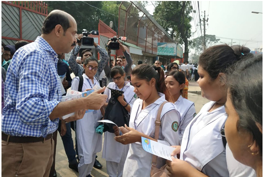 DNCC mayor conducts awareness campaign in city