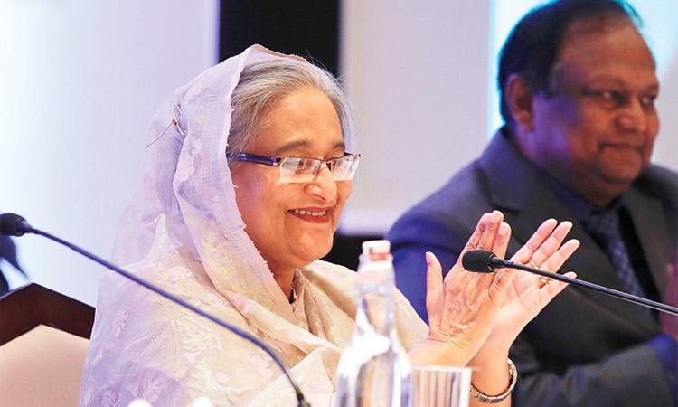 Prime Minister seeks larger UAE investment in Bangladesh