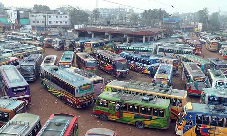 No buses on Khulna routes as workers go on strike for change to new law