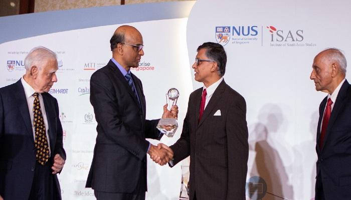 Sir Fazle Hasan Abed honoured in Singapore Diaspora Convention