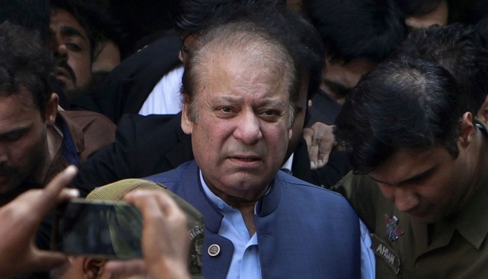 Ex-PM Sharif leaves Pakistan for medical treatment in London