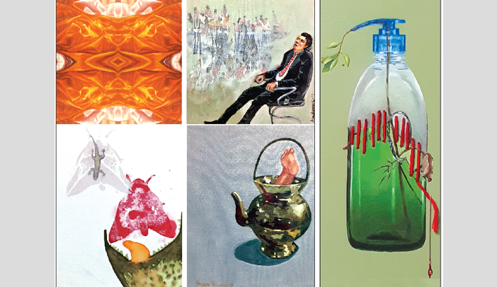 Group art exhibition 'Odds and Ends' begins at AFD today