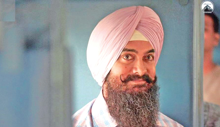 Aamir shares first look of Laal Singh Chaddha