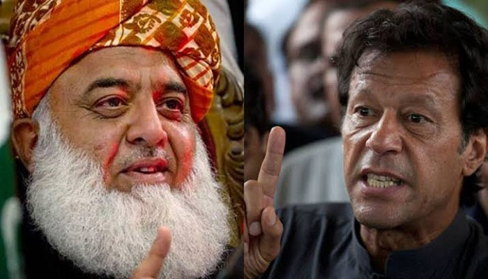 Govt's days are numbered, Fazlur Rehman tells Pakistani Prime Minister Imran