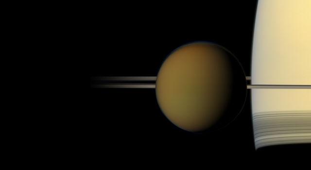 NASA completes 1st global geologic map of Titan