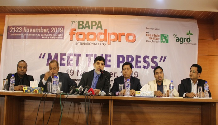 Three-day int'l expo on food processing industry starts Thursday