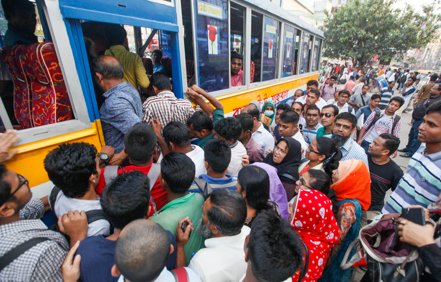 City commuters suffer for lack of transport