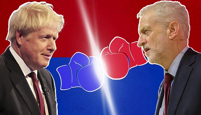 Election debate: Johnson and Corbyn clash over Brexit