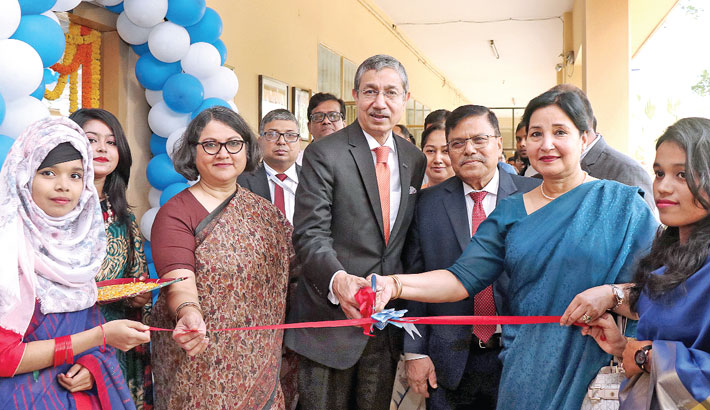 Dhaka Bank opens electric lab at UCEP