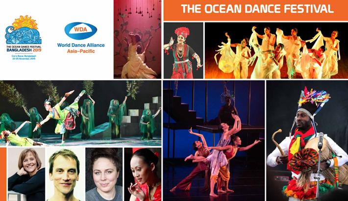 Ocean Dance Festival to begin in Cox's Bazar on November 22
