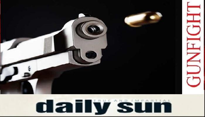 'Drug peddler' killed in city 'gunfight'