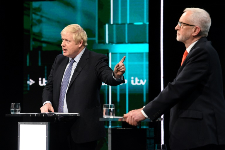 UK election debate: Johnson and Corbyn clash over Brexit