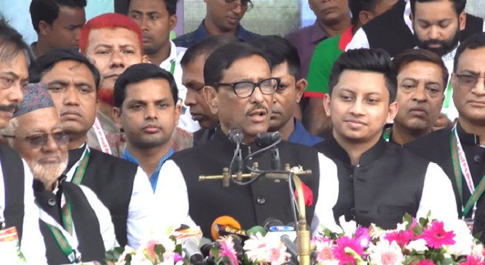 Quader urges Fakhrul not to instigate transport workers