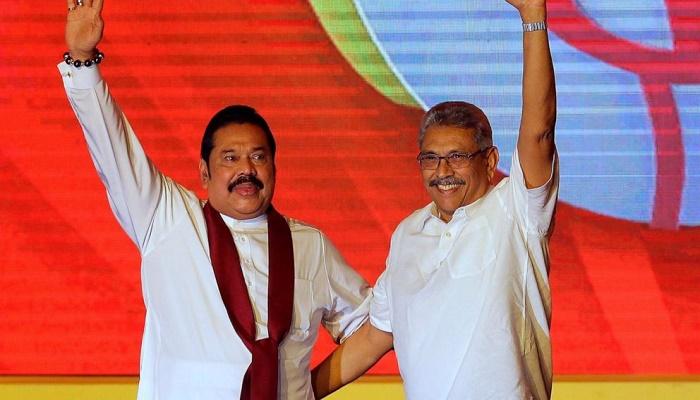 Ex-President Mahinda Rajapaksa sworn in as Sri Lanka's new PM