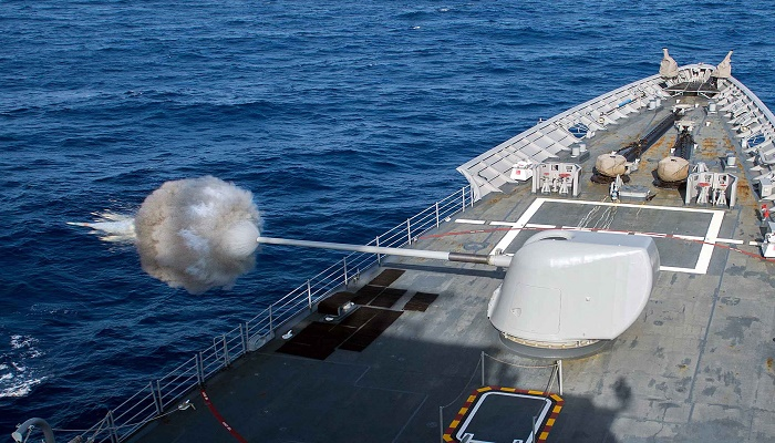 US approves sale of naval guns worth $1 billion to India