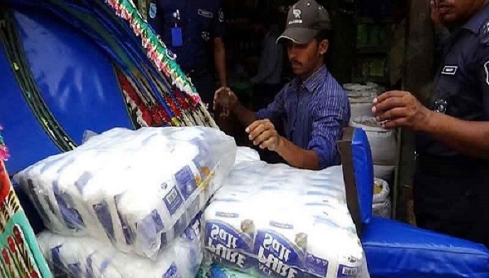 7,000 Kg salt recovered, 4 arrested in Mymensingh