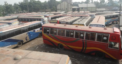Transport strike continues in seven districts