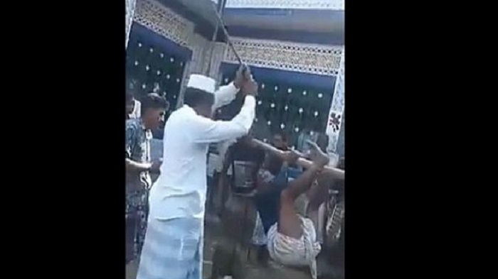 Upazila chairman tortures youth tying him to hanging bamboo, video goes viral