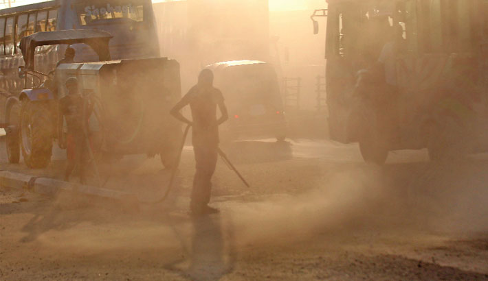 Dust pollution