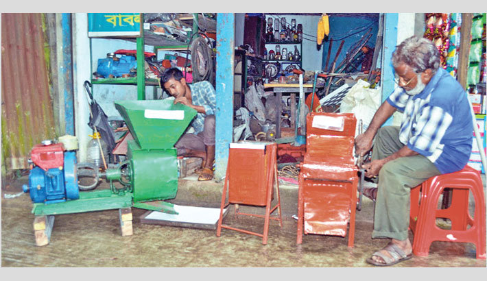 Sylhet man invents machines to make life easier
