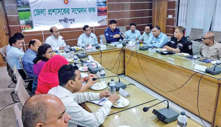 Preparation meeting for the Victory Day-2019