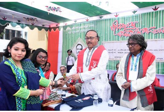 Two-day Jibananda poetry fair begins in Rajshahi