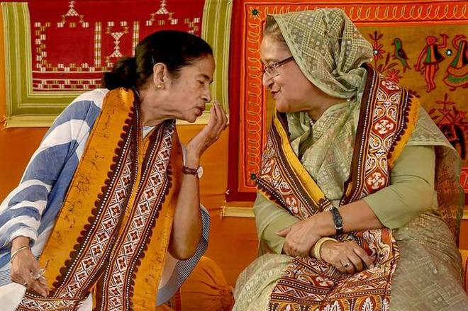 Mamata Banerjee to meet PM Hasina this evening
