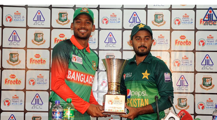 Emerging Cricket: Bangladesh to play Pakistan in final on Saturday