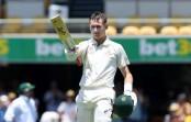 Labuschagne hits maiden Test century, Australia 395/3 at lunch against Pakistan