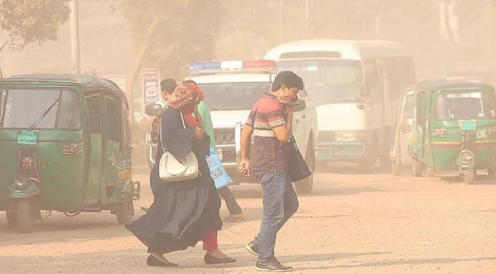 Dhaka again ranks worst in Air Quality Index