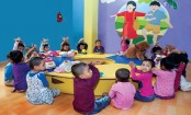 Day care center blessing for mothers of RMG