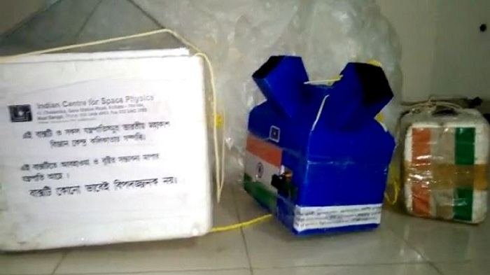 Indian weather balloon crashes in Bangladesh