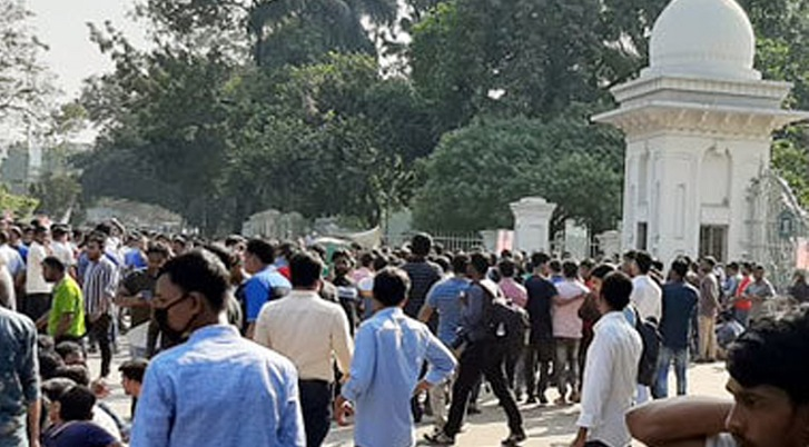 BNP men lock in clash with cops in city in front of Supreme Court