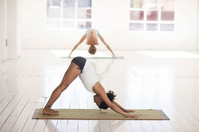Yoga reduces lower back pain