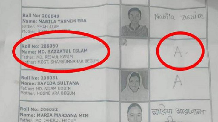 Absent student secures 12th position in Comilla University admission test