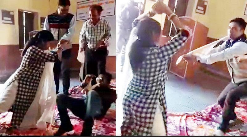 Teacher performs 'nagin' dance in school, gets suspended (Video)