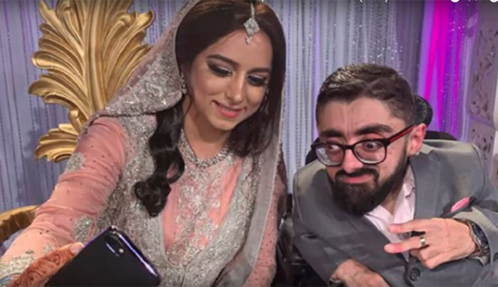 Wedding video of 2 feet groom and 6 feet bride going viral