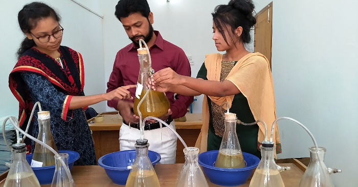Sylhet researchers show how to make biogas from wastes