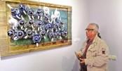 Topu Khan participates in Tashkent Int'l Applied Art 19