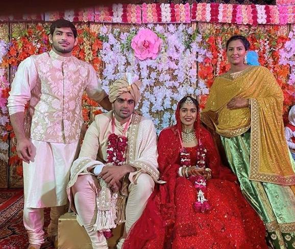 Wrestler-turned-politician Babita Phogat marries Vivek Suhag