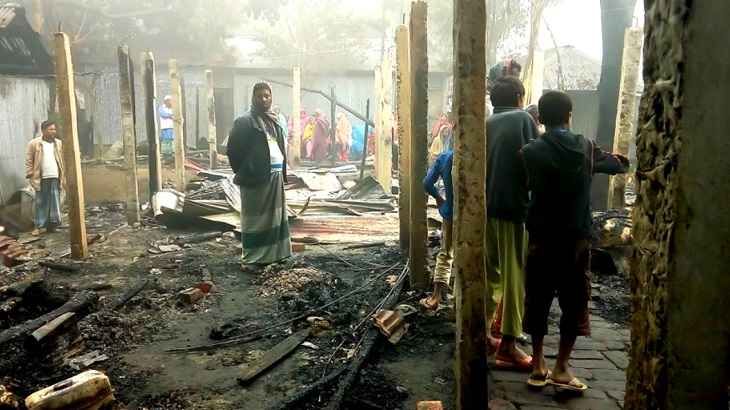 Panchagarh woman burnt to death in her shop