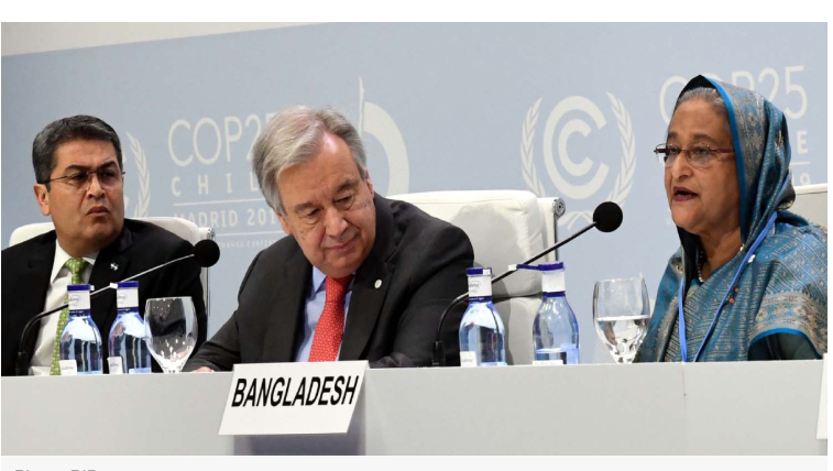 Create framework to address needs of climate migrants: PM at COP25