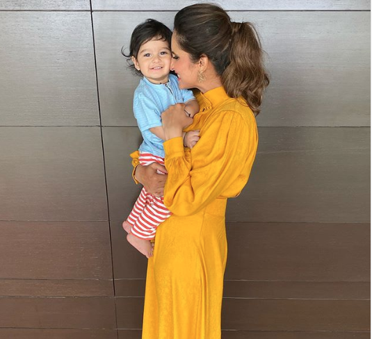 Sania Mirza's pictures with son Izhaan Malik lights up Instagram