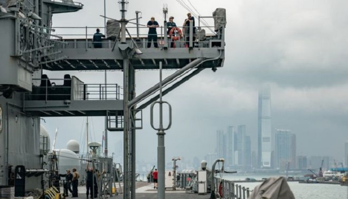 China suspends US Navy visits to Hong Kong over support for protests
