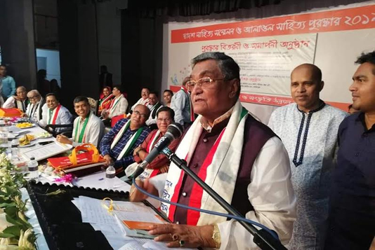6 litterateurs get MohaKobi Alaol Literary Award in Faridpur