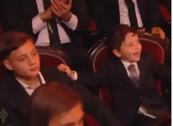 When dad became Ballon d'Or, Messi's son's reaction goes viral