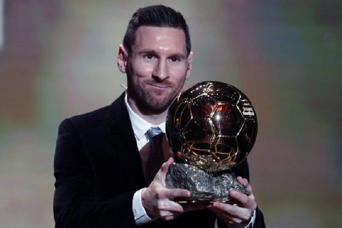 Lionel Messi wins 2019 Ballon d'Or prize for record sixth time
