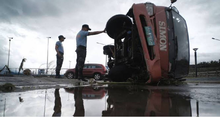 Powerful typhoon leaves at least 4 dead in Philippines